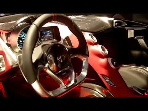 Alfa Romeo 4c Concept Interior Alfa 4c Interior.mov