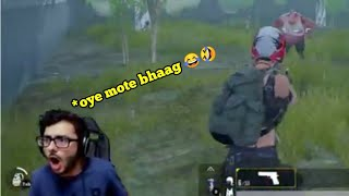 Carryminati funny fight with zombie 😂😂 pubg mobile highlights