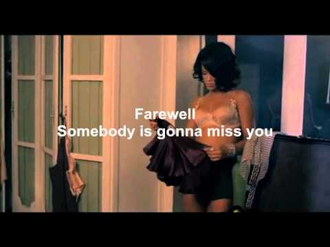 Rihanna - Farewell (instrumental & Lyrics In Hd) video
