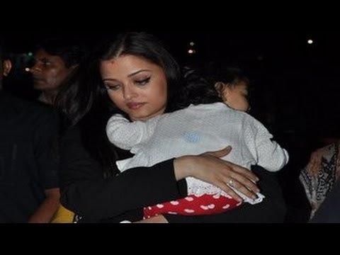 Aishwarya Rai Bachchan Leaves For Cannes 2013 video