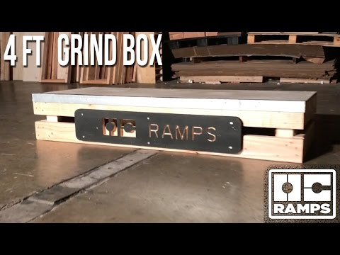 4 ft Grind Box by OC Ramps