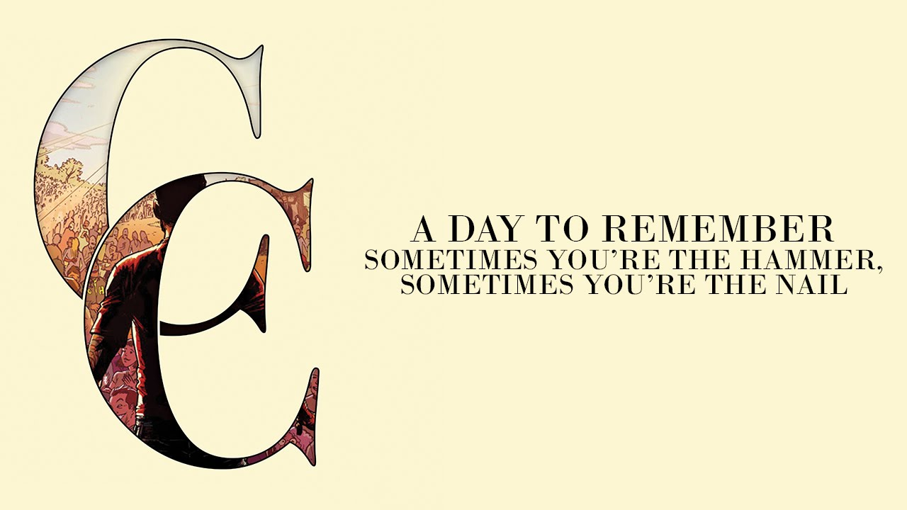 A Day To Remember - Sometimes  A Day To Remember Common Courtesy Album Cover