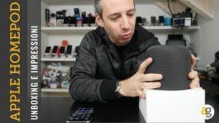 Apple HOMEPOD Unboxing prime impressioni e non solo...