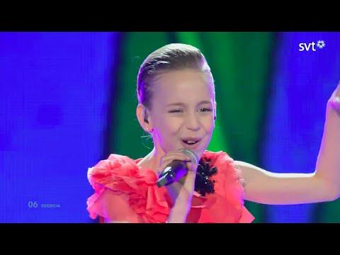 Lizi Japaridze (lizi Pop) - Happy Day (georgia) - Live - Junior Eurovision Song Contest 2014 video