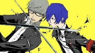 Persona: Light and Darkness Yu and Minato test battle