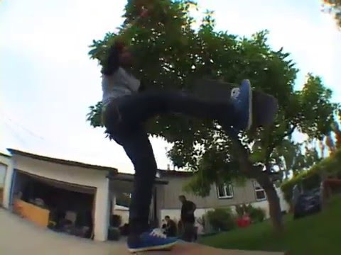 CHRIS HASLAM vs THE SK8 JERKS