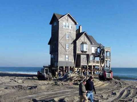 Nights in Rodanthe movie house is on the move - video by Surf or Sound Realty