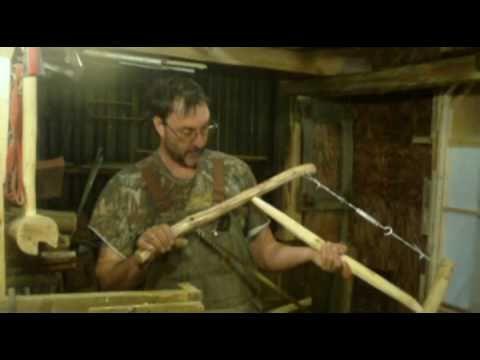 homemade   bucksaw