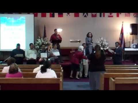 Reconocimiento de Maestros de la Escuela Dominical