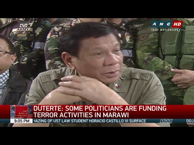 Duterte admits ordering wiretapping of alleged narco-politicians