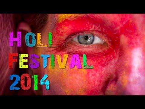 Holi Festival 2014, Jaipur, Rajasthan, India