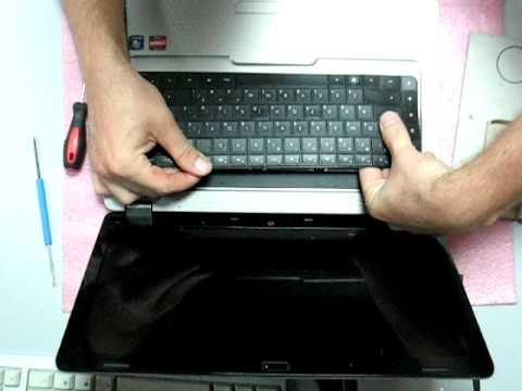 Разборка ноутбука  hewlett packard G62