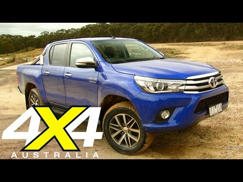 2016 Toyota Hilux | Road test | 4X4 Australia
