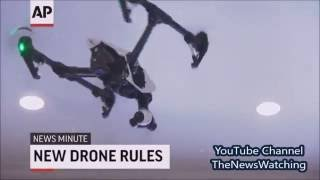 AP Top Stories News Drone