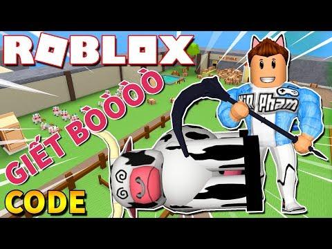 Roblox | NÔNG DÂN KIA GIẾT GIA SÚC BẰNG LƯỠI HÁI - Farming Simulator (Code) | KiA Phạm thumbnail