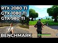 PUBG Fortnite RTX 2080 Ti Vs GTX 1080 Ti 980 Ti 4K Benchmark Frame Rate Test Sponsored mp3