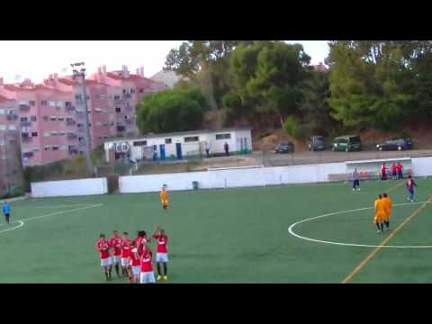 RESUMO CLUB SINTRA FOOTBALL 4 - 1 SC FRIELAS  TA�A AFL 1� ELIM - 16/09/2012