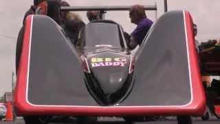 NitroAmerica 2014 - Don Garlits Electric Dragster Test