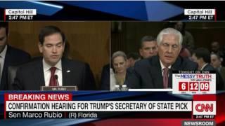 PH War on Drugs: CNN News(11Jan17) - US Secretary of State refuses to condemn Duterte