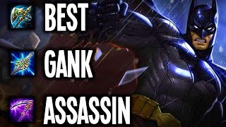 💀🦇 GANK ALL! PRO BUILD (BATMAN JUNGLE) AoV | Garena RoV | Liên Quân Mobile | 傳說對決 | 펜타스톰