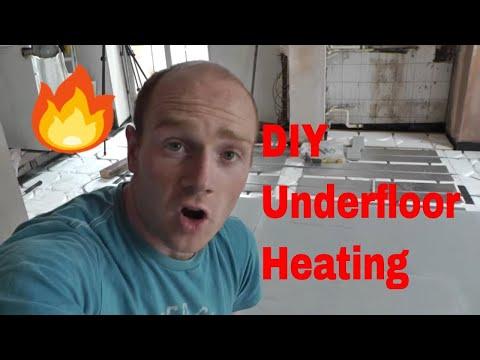 DIY Underfloor Heating - Wet Floating Floor System
