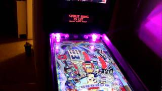 Theatre of Magic flasher test - Visual Pinball cabinet