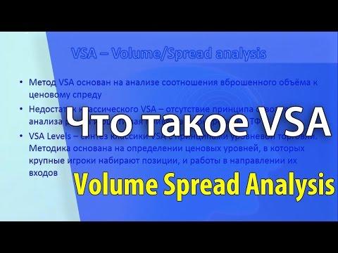 Что такое VSA (торговые сигналы VSA)