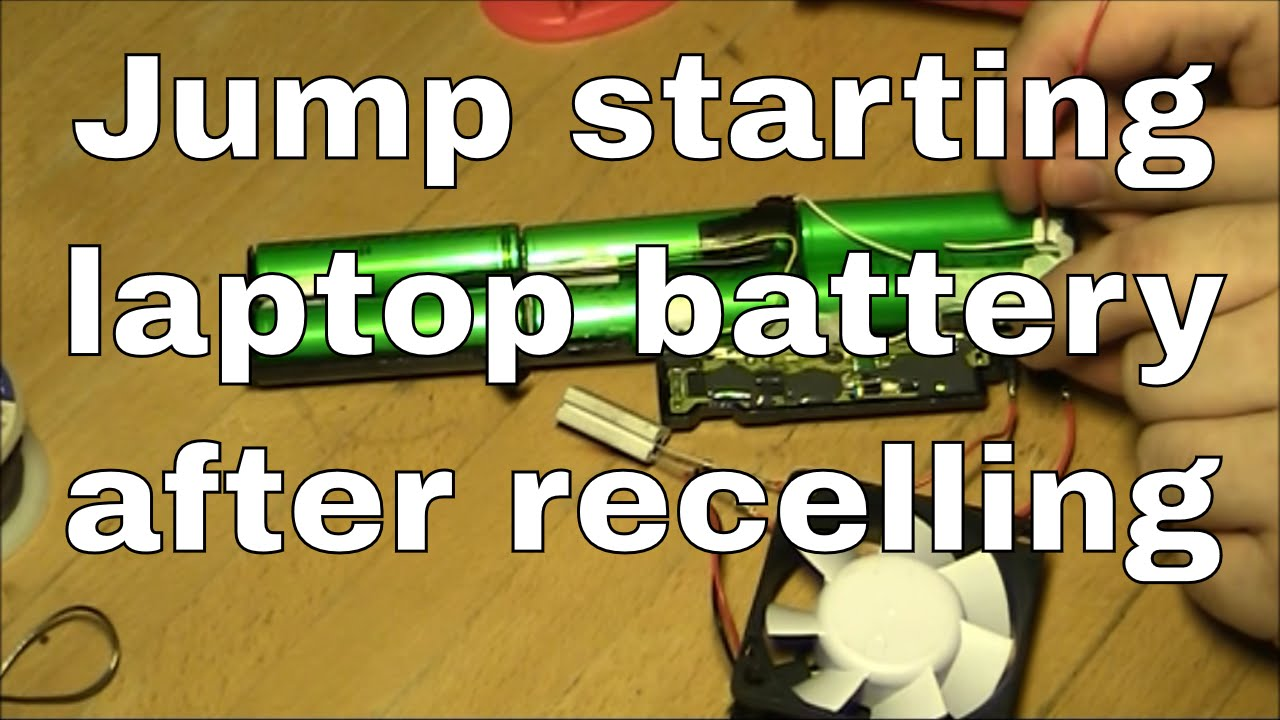 Jump Starting A Recelled Ibm Thinkpad T40 Battery Youtube
