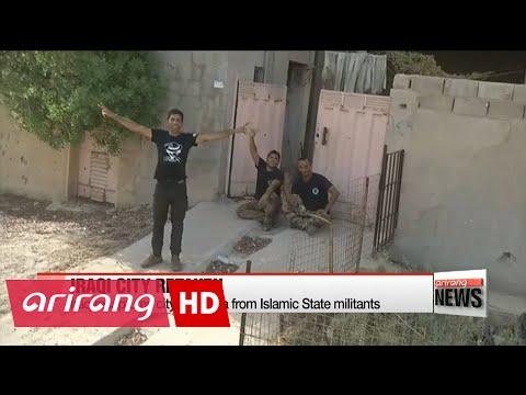 Iraq recaptures city of Falluja from Islamic State militants