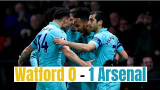 Watford vs Arsenal 0-1 // EPL Highlights // 16/04/2019 HD