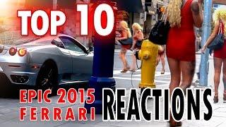 Ferrari Reaction - Top 10 from 2015