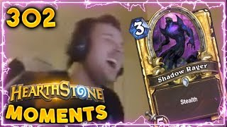 That Shadow Rager Play!! | Hearthstone Gadgetzan Daily Moments Ep. 302 (Funny and Lucky Moments)