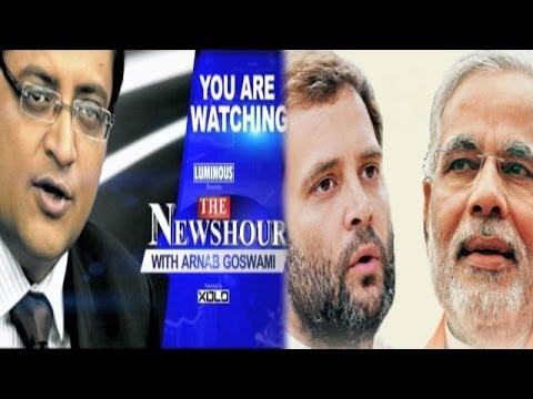 The Newshour Debate: Narendra Modi vs Rahul Gandhi faceoff - Full Debate (5th March 2014)