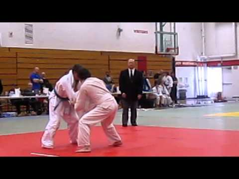 Boise Vally Judo Tournament 2011 Senior White Belt Match 1 Image 1