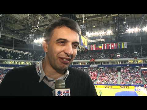 The coach of Great Britain handball team