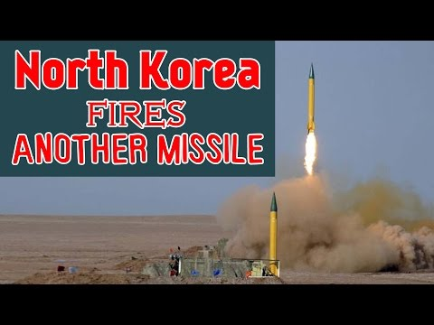North Korea fires another missile off its east coast, says South Korean officials