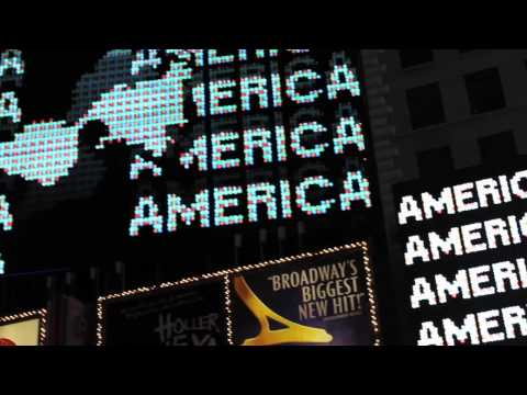 Midnight Moment August 2014: A Logo for America by Alfredo Jaar