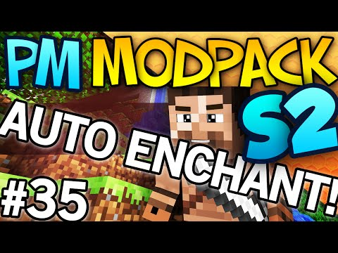AUTO ENCHANTER! - PM-Modpack S2 - #35