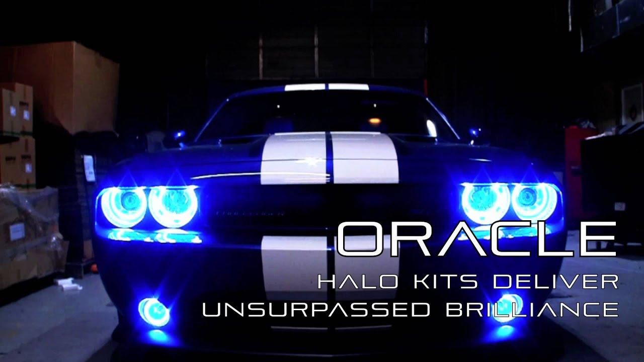 Custom Dodge Challenger Srt8 >> Dodge Challenger 392 SRT8 custom ORACLE Lighting Installation by Advanced Automotive Concepts ...