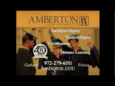 Amberton University Dallas TV Ad