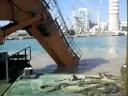 watch Liebherr R994p Civitavecchia Dock Station video