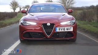 2019 Alfa Romeo Giulia Quadrifoglio drive review