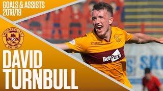 Top Scorer in Debut Season!  David Turnbull39s 2018-19 Goals amp Assists  Ladbrokes Premiership