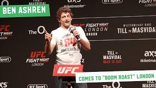 Ben Askren takes on the London Fans at the UFC London Q&A