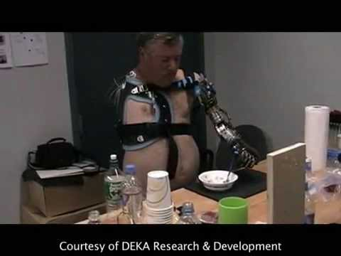 DARPA robot arm also allows for very precise gestures