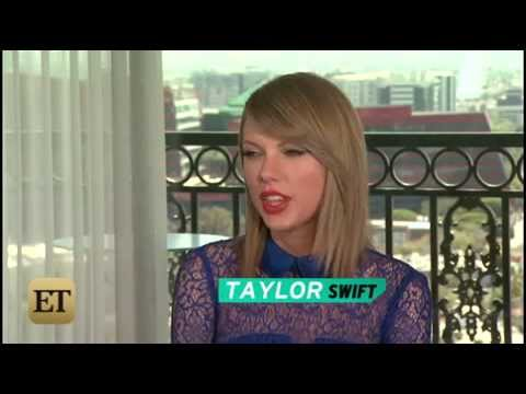 Taylor Swift ET Interview - 4/29