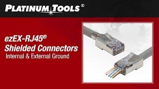 How to Terminate Shielded ezEX-RJ45 Connectors