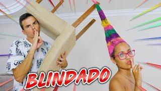 BLINDAMOS O CABELO DELA! - (IMPOSSÍVEL DESARRUMAR ) - KIDS FUN