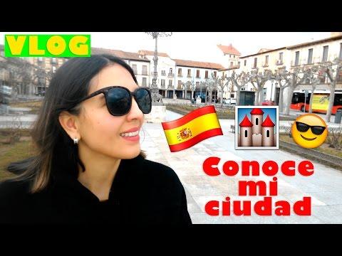DE PASEO POR ALCALÁ DE HENARES, MADRID./// VLOG: CONOCE MI CIUDAD