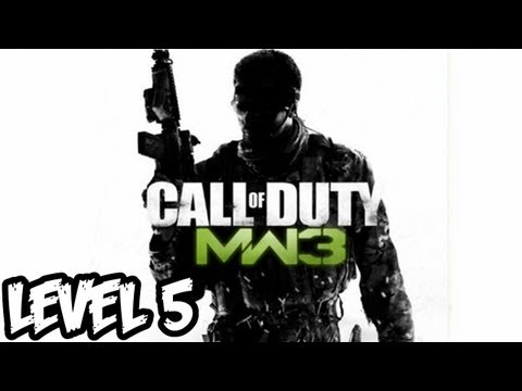 Call of Duty: Modern Warfare 3 Walkthrough Level 5 - Part 1 MW3 HD (Xbox 360/PS3/PC Gameplay)